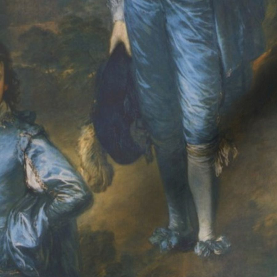 Pintura Rococo Thomas Gainsborough The Blue Boy Spoonflower