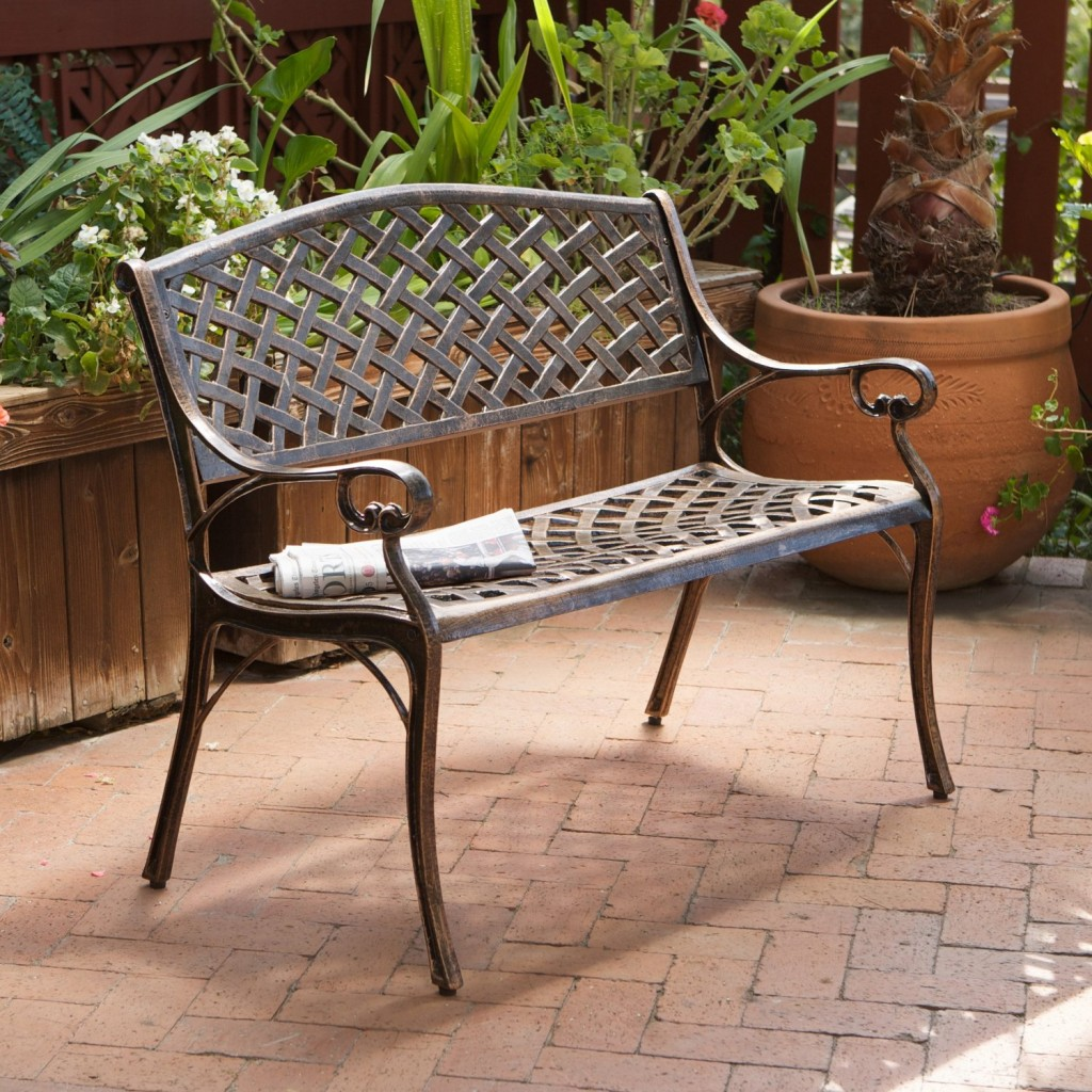Small Garden Bench Garden Bench The Garden And Patio Home Guide