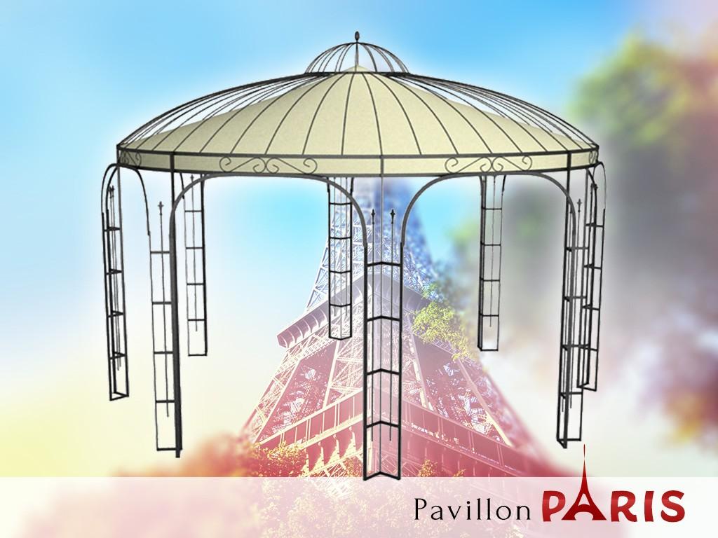 Luxus Pavillon Romantik Rund Metall | Pavillon Luxus Luxus Pavillon ...