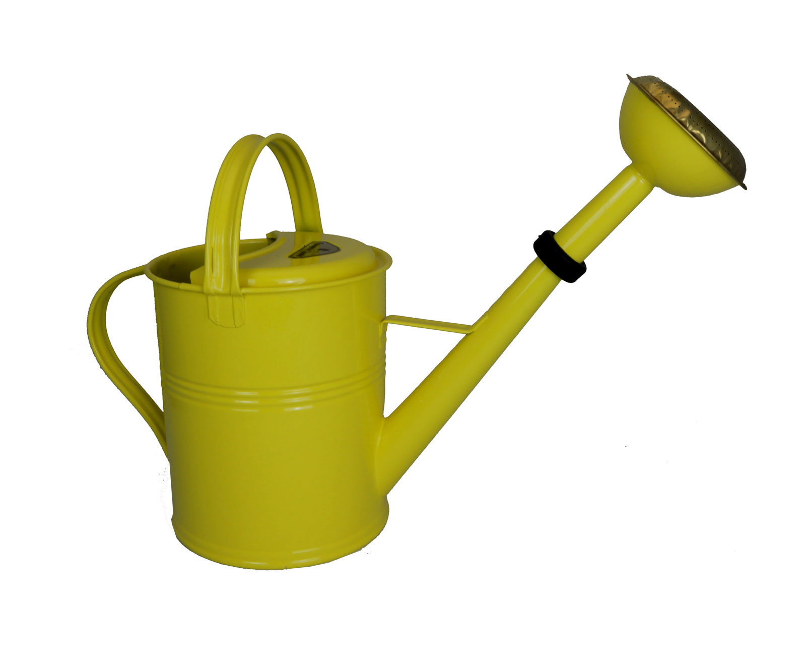 Galvanized Watering Cans Yellow Classic Round Galvanized Watering Can 1 25 Gallon