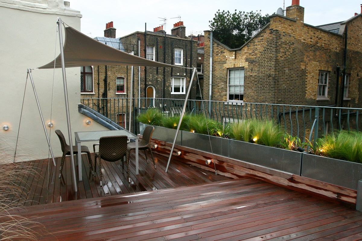 Terrasse Wohnlich Gestalten City Roof Terrace In Marylebone W1 Designed By Joan Edlis