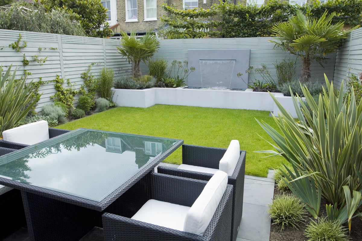 Back Garden Ideas Garden Designers Richmond Surrey Small City Family Garden Design Ideas