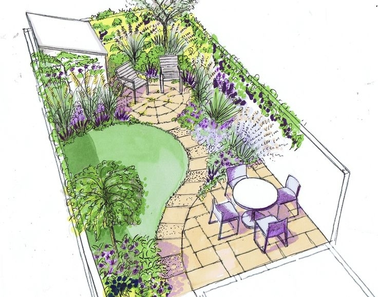 Garden Design Ideas For Small Triangular Gardens Garden Design Ideas For Small Triangular Gardens - Garden