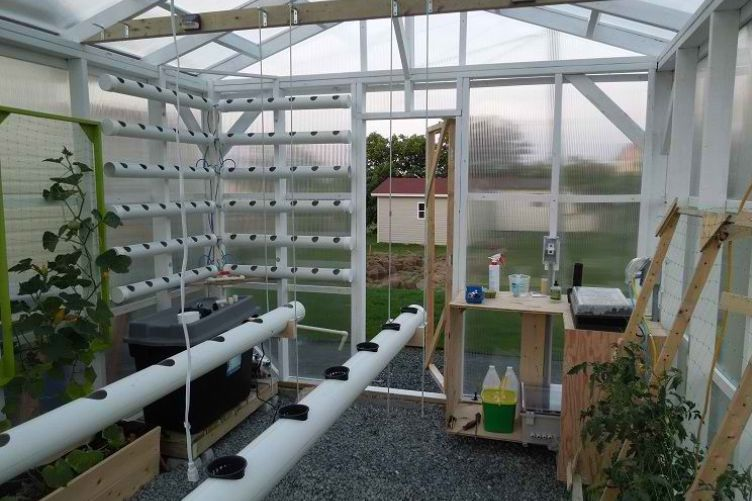 Great Hydroponics Ideas But Garden Culture Magazine Diy Fully Automated Hydroponic Greenhouse - Garden Culture