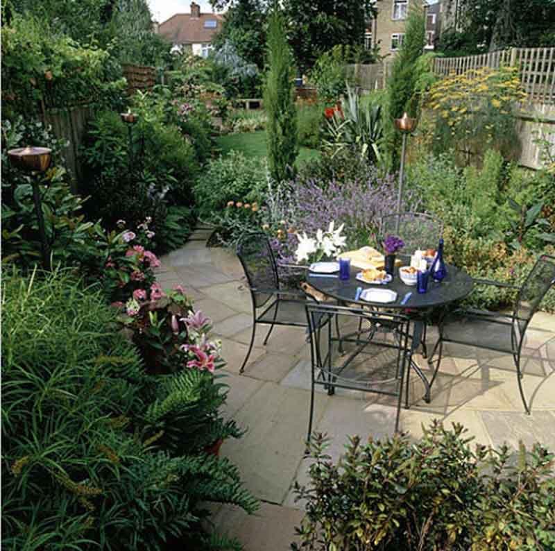 Desgin your own patio Garden Design for Living - designing your garden