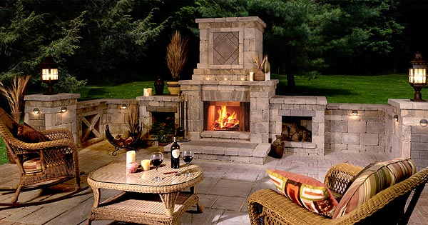 Aussenkamin Gas Design Guide For Outdoor Firplaces And Firepits | Garden