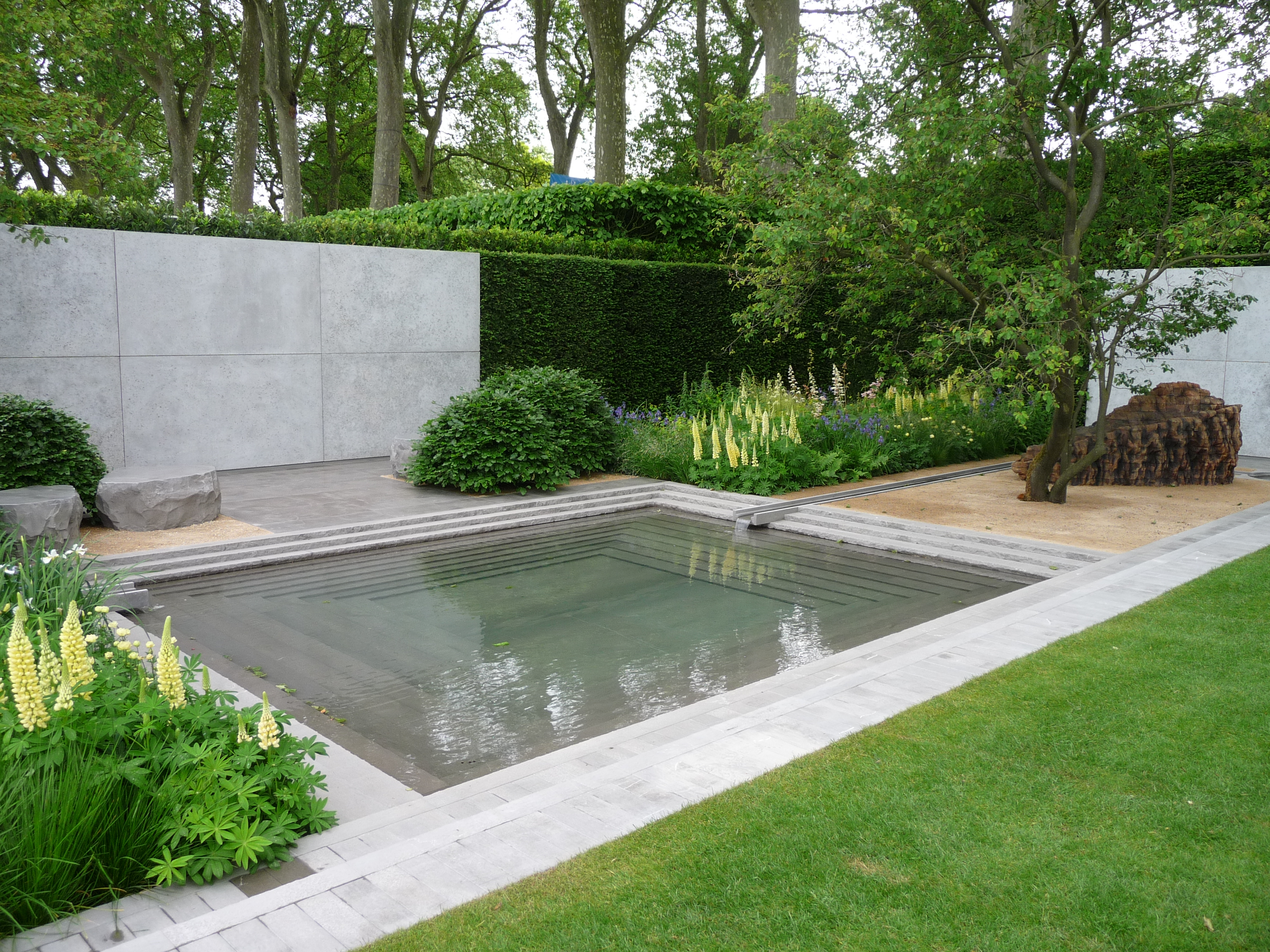 Bassin De Jardin Design Zen The Laurent Perrier Garden Garden Envy Ltd