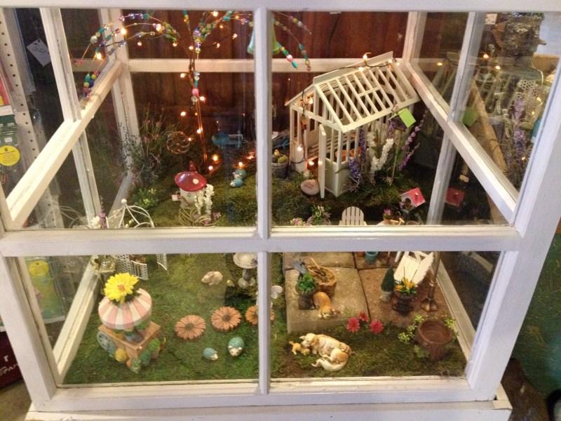 Large Of Outdoor Miniature Garden