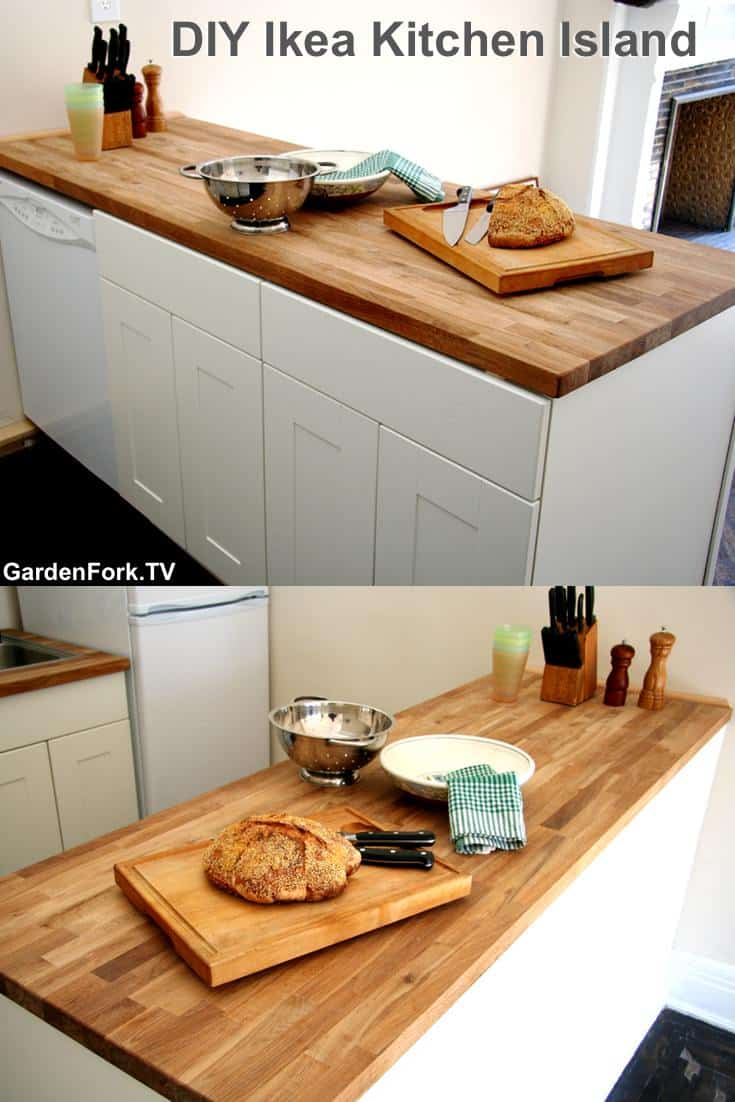 Ikea Kitchen Island You Can Build Gardenfork Eclectic Diy