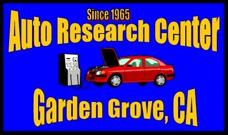Auto Research Center Garden Grove U2013 Since 1965