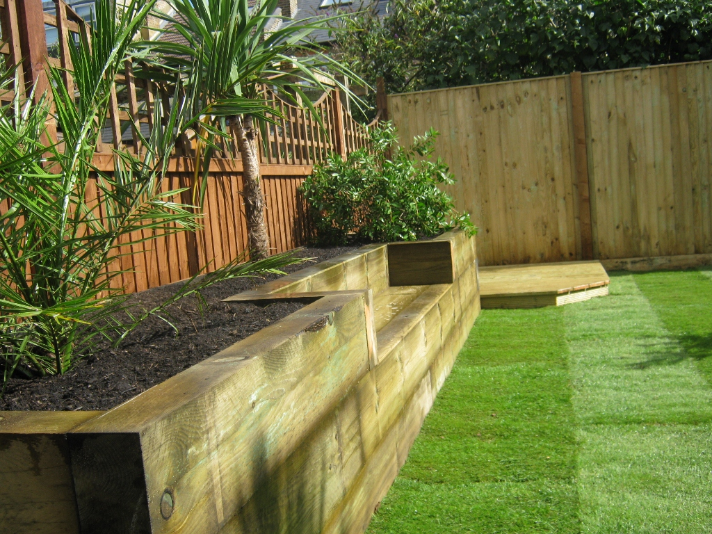 Using Railway Sleepers For Raised Vegetable Beds Raised Garden Beds Railway Sleepers