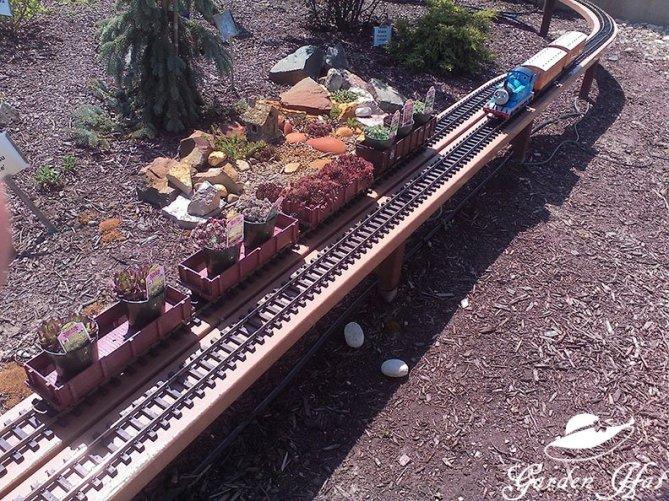 Burlington Wi Garden Center Thomas the Train!