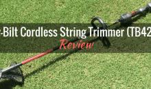 WORX GT2.0 20V MaxLithium Trimmer/Edger Review - Gardening ...