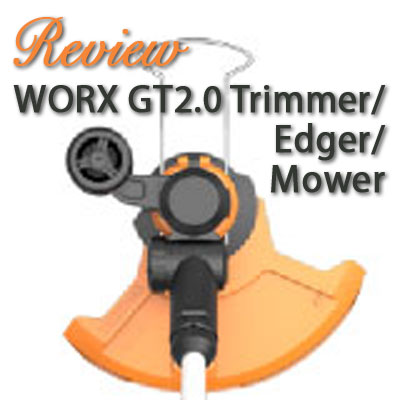 worx gt2 0 20v maxlithium trimmer edger review gardening products review. Black Bedroom Furniture Sets. Home Design Ideas