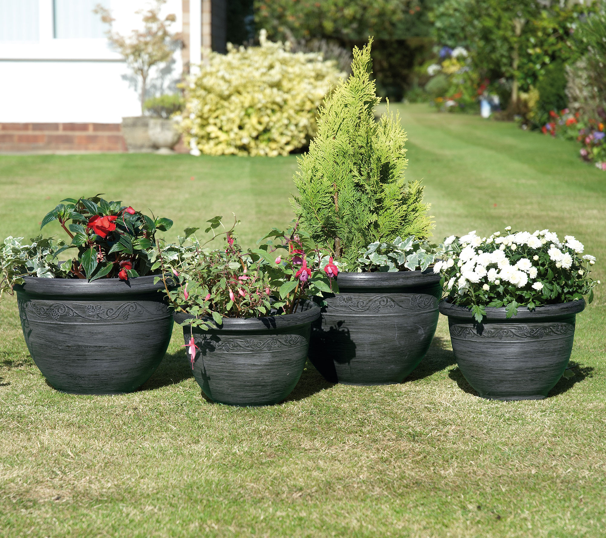 Big Garden Planters Large Garden Planter Shop For Cheap Garden And Leisure And