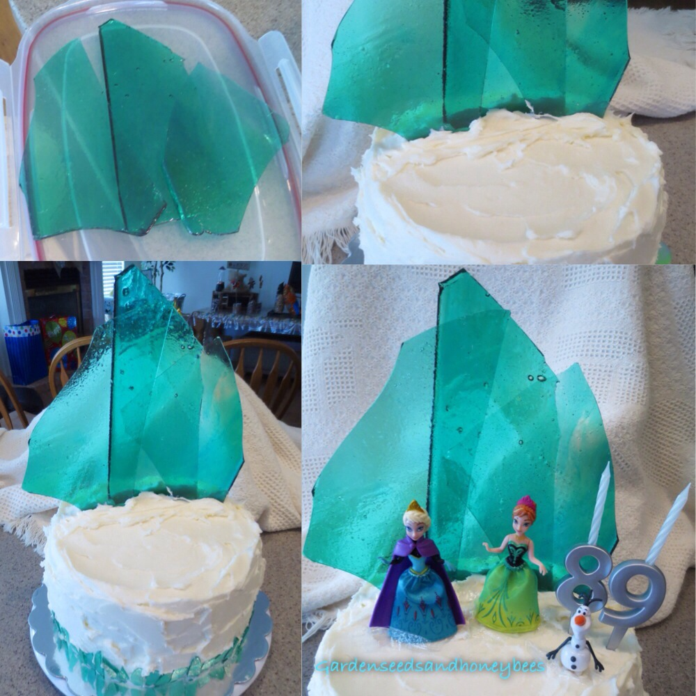 Frozen Ice Candy Cake Garden Seeds And Honey Bees