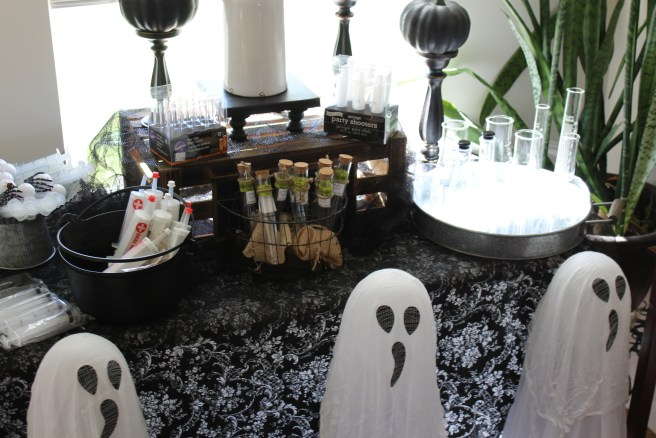 Spooky Ghost Spiders Witches Decor