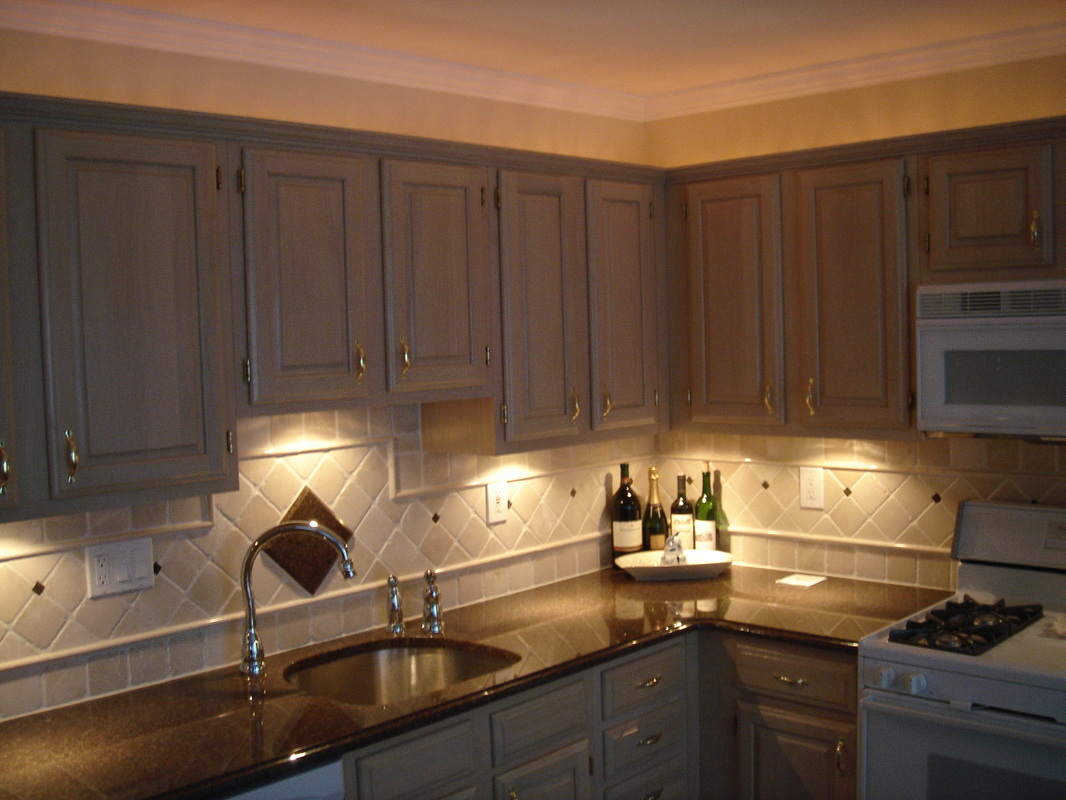 kitchens can lights in kitchen Picture