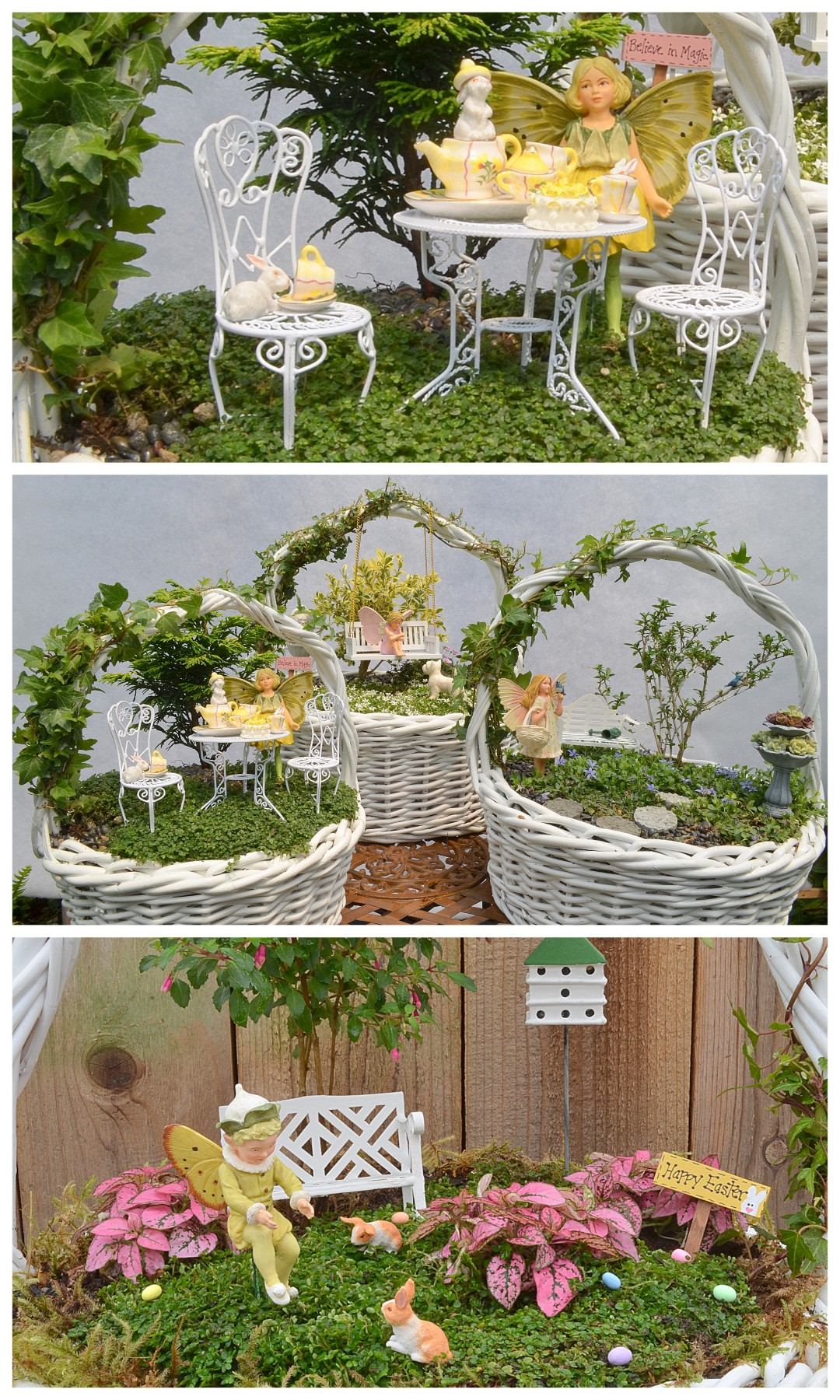 Excellent How To Make A Fairy Garden Easter Basket Fairy Garden Garden Rapy Miniature Fairy Gardens Kits Miniature Fairy Gardens garden Miniature Fairy Gardens