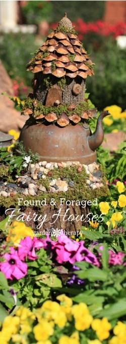 Small Of Fairy House Garden