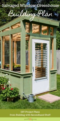 Plans To Build A Greenhouse With Old Windows