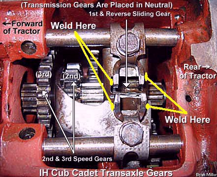 Modifying the Cub Cadet Transaxle for Heavy Duty Use and/or