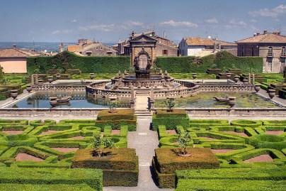Villa Lante gardens Photo Roberto Ferrari