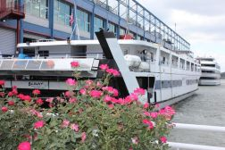 Botanica's cruise boat on the Hudson River