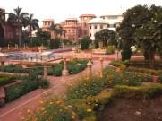 India, Rajasthan, Agra. Hotel Garden