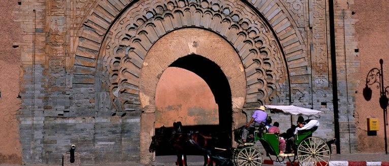 Bab Agnaou, Marrakesh, Morocco