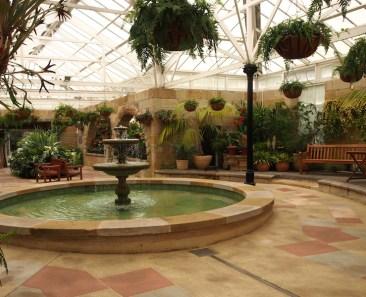 Historic glasshouse Hobart Botanic Garden