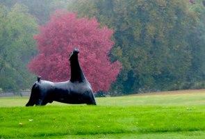 Sculpture garden at Kykuit, the Rockefeller Estate, Sleepy Hollow