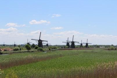 Dutch windmills , The Netherlands