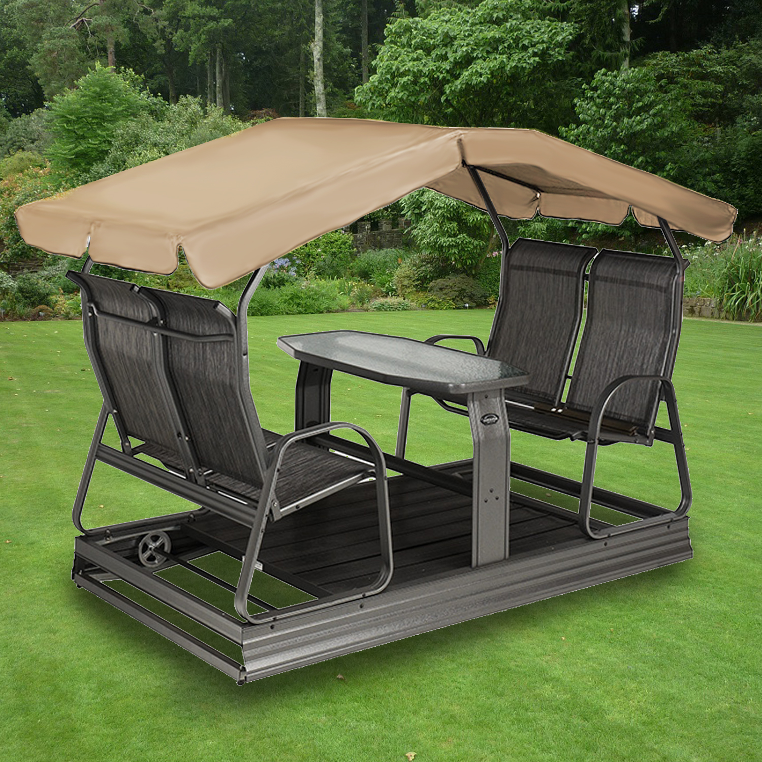 Store Exterieur Rona Replacement Canopy For Four Seater Swing Garden Winds Canada