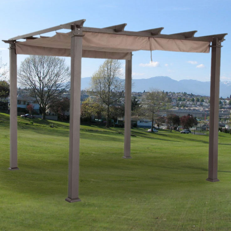 Pergola Tent Replacement Canopy For 9 Ft Pergola - Riplock 350 Garden