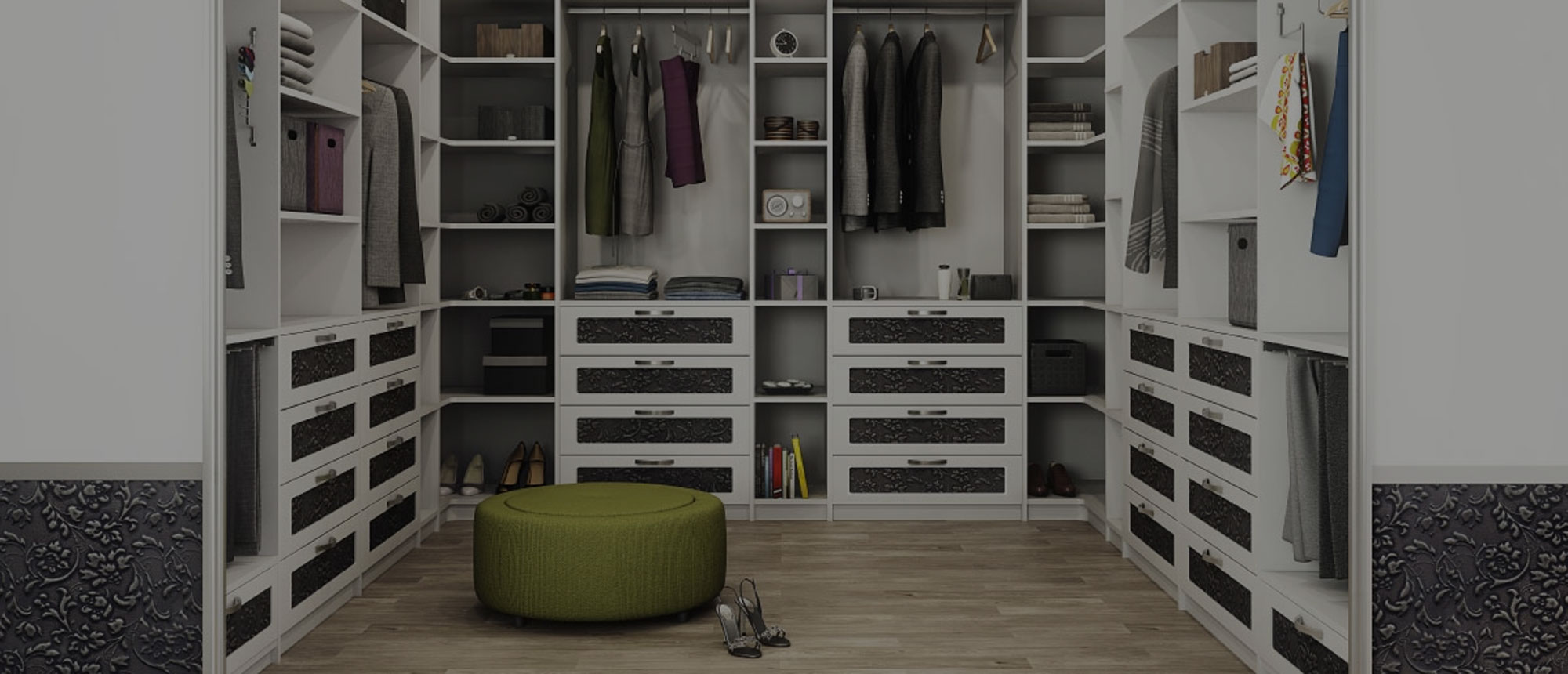 Photo Walk-in Garde-robe Walk In Closet Skreddersydde Løsninger Garderobe Mannen