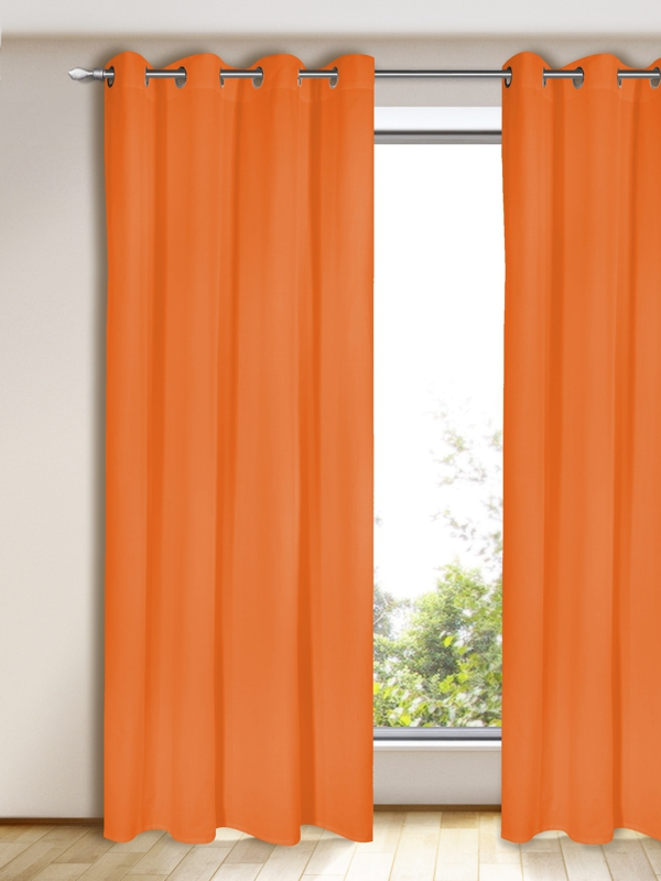 Gardinen Vorhang Blickdicht Orange Gardinen Outlet - Vorhang Outlet