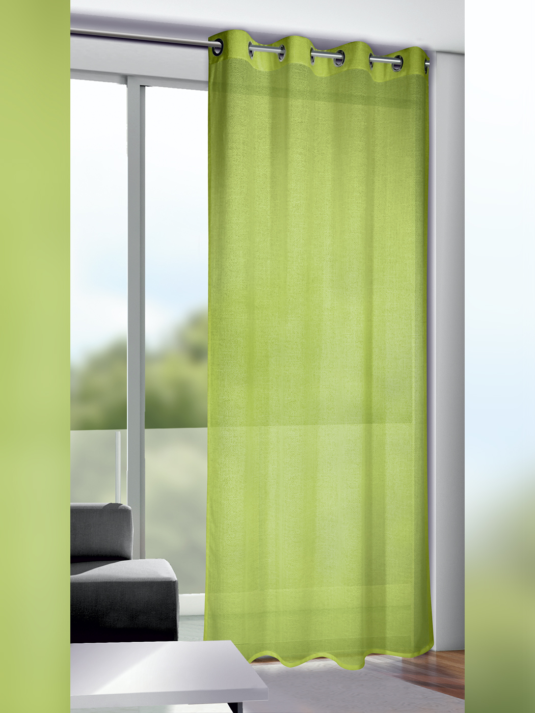 Neusser Collection Ösenschal Gerome 135 x 245 cm grün
