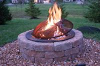Fire-Pits-Lowes-With-Stones  Garden Landscape
