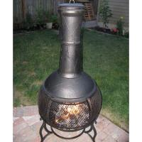 Chiminea Outdoor Fireplace At Lowes