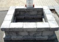 Fantastic Concrete Blocks For Fire Pit   Garden Landscape