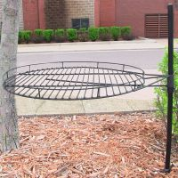 Garden treasures Fire Pit Adjustable Cooking Grate ...