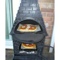 Low Price Chiminea Fire Pit Pizza Oven | Garden Landscape