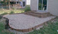 Review Building Fire Pit On Concrete Patio | Garden Landscape