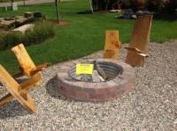 Amazing In Ground Gas Fire Pit Kit | Garden Landscape