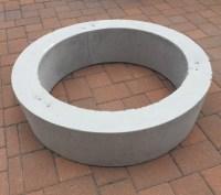Improbable Concrete Fire Pit Ring   Garden Landscape