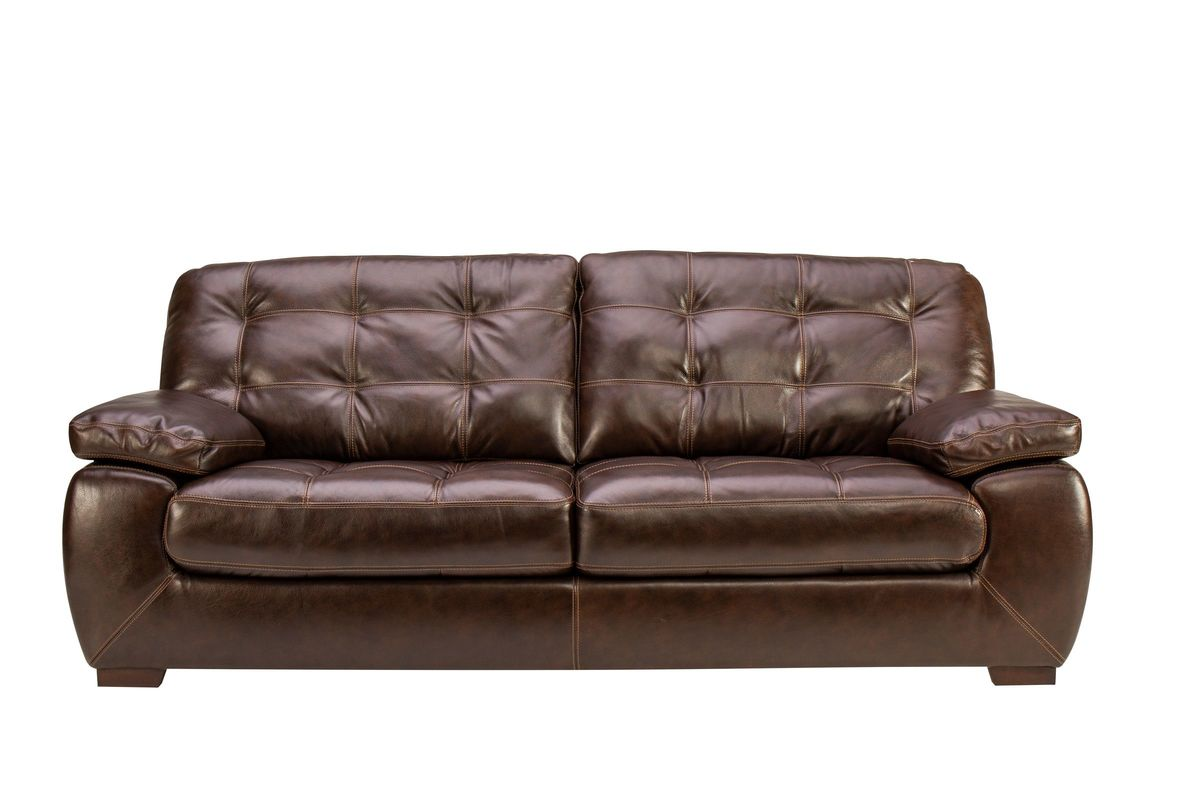 Overstuffed Leather Chair And Ottoman Overstuffed Leather Sofa Sofas Living Room Thomasville