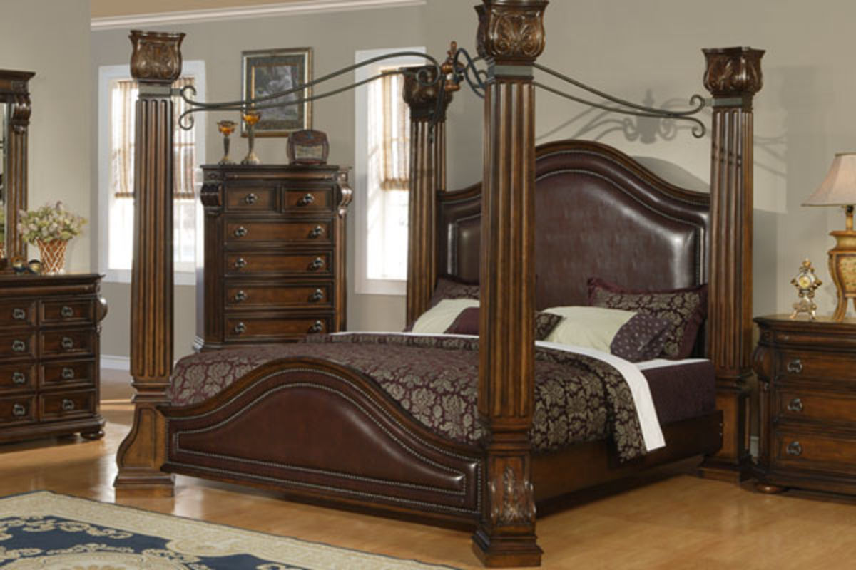 White Four Poster King Bed Silvia King Bed