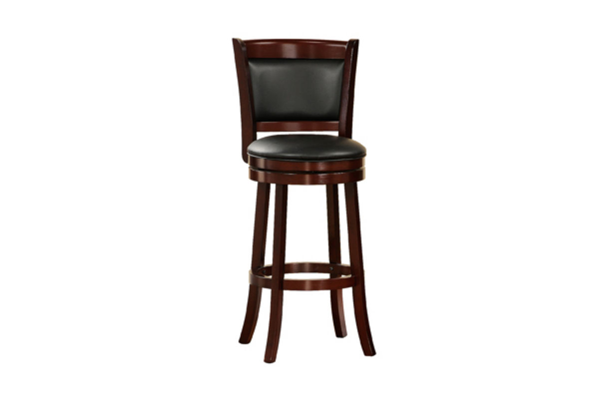 Padded Stool Padded Back 24 Quot Bar Stool At Gardner White
