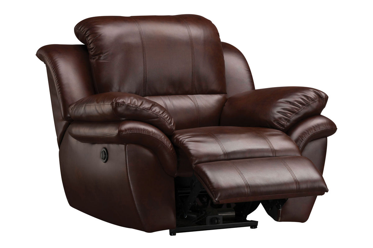 Electric Recliner Leather Chairs Blair Leather Power Recliner